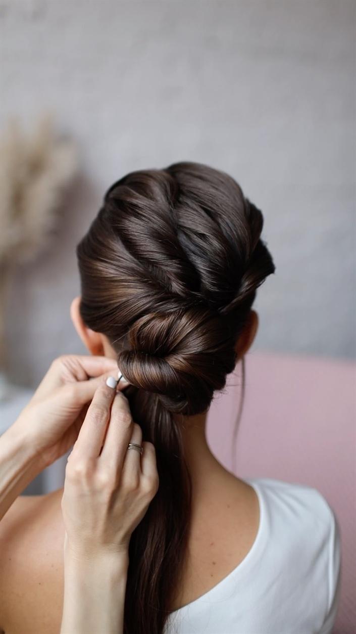 Hochzeitsfrisuren Lange Haare Anleitung